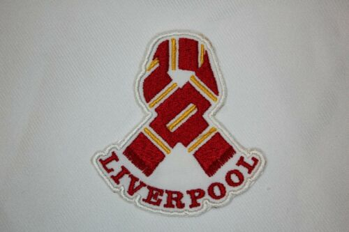 LFC PERSONALISED PATCH /'SCARF/'  IRON ON // SEW ON FREE POST LIVERPOOL