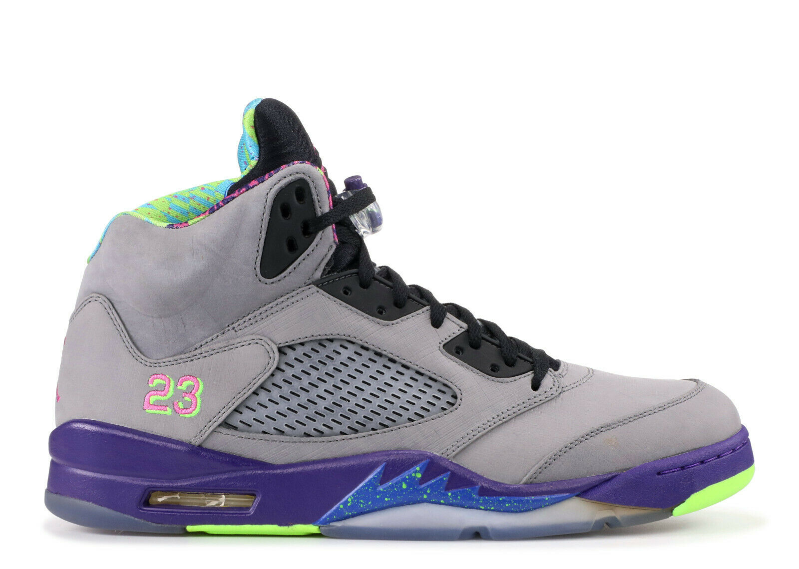 Men's Brand New Air Jordan 5 Retro Bel Air Athletic Sneakers [621958 090]