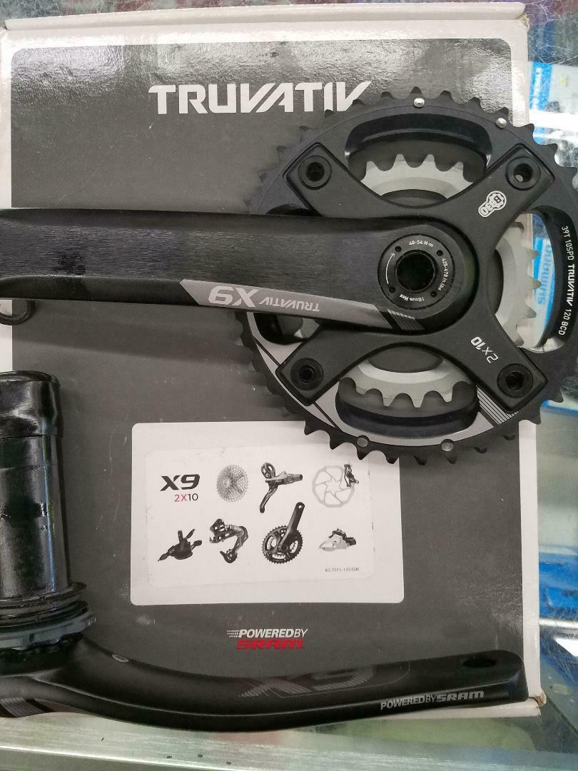 NEW  TRUVATIV X9 CRANKSET 2 X10 BB30 39 26 175MM FULL SRAM WARRANTY  no hesitation!buy now!
