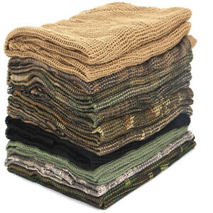 Mens-Women-Army-Military-Scarf-Summer-Tactical-Mosquitoes-Camo-Commando-Scarves