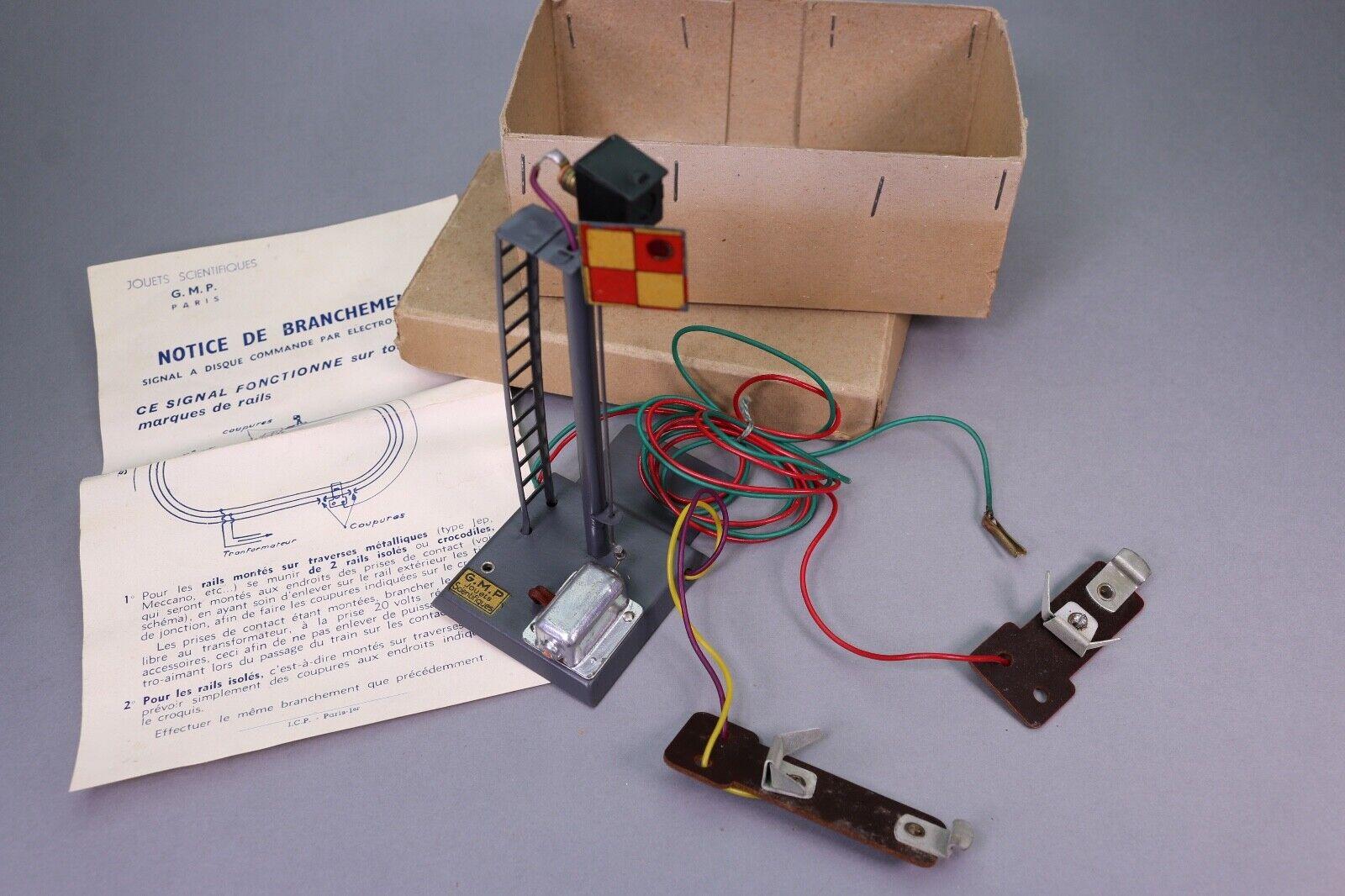 ZA356 GMP Train rail O Signal a disque commande par electro aimant