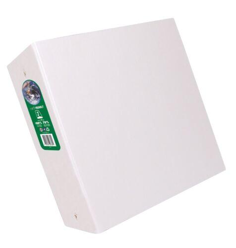 ... 3 Inch D-Ring 8 1//2 x 11 Inch Size Aurora GB Elements Ultra Binder White