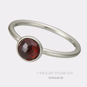 17b003bb8 Image is loading Authentic-Pandora-January-Droplet-Synthetic-Garnet-Ring -Size-