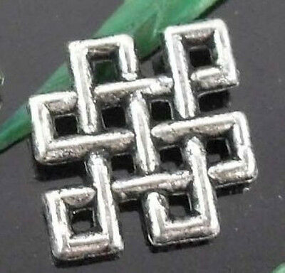 150/430Pcs Tibetan Silver Connectors Findings 9mm