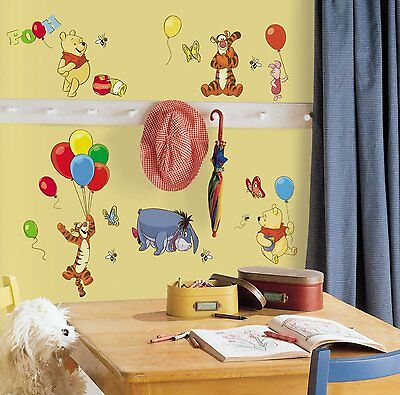 RoomMates Winnie The Pooh Wall Stickers Decals 1498