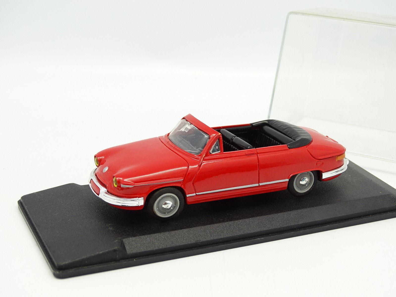 Leader Resina 1 43 - Panhard PL17 Cabrio red