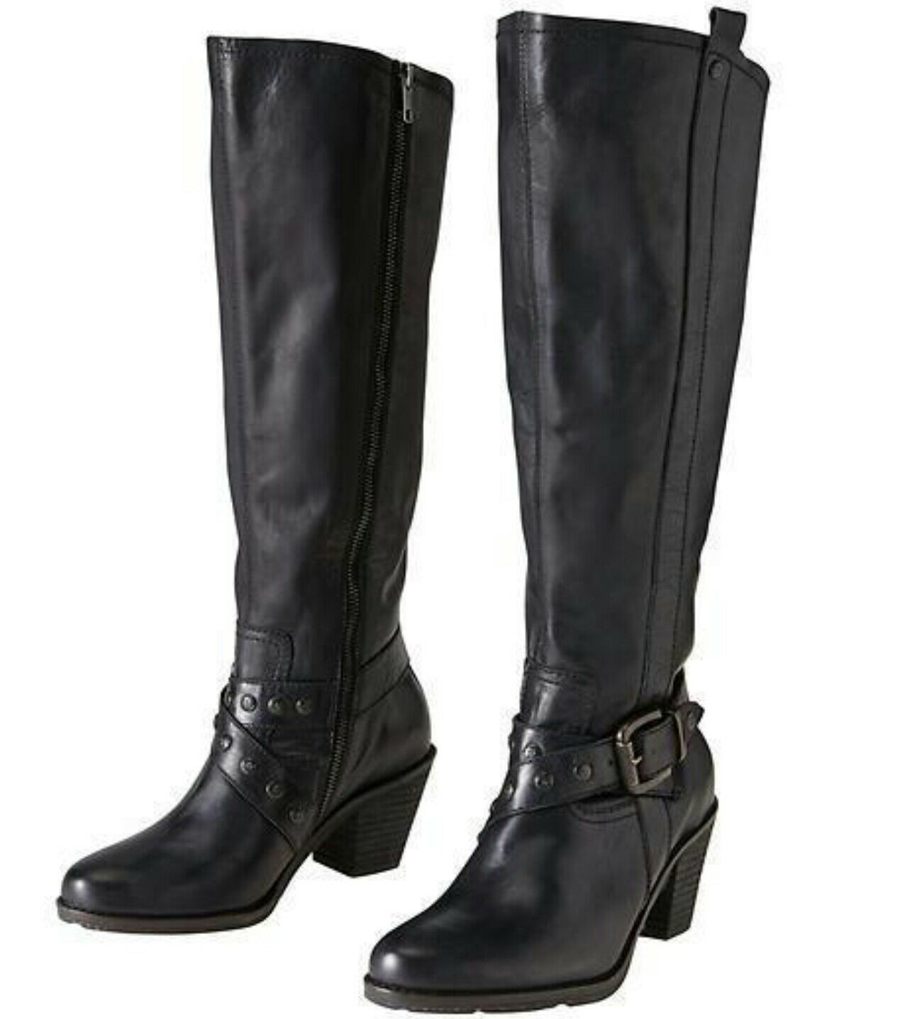 Athleta OTBT Brule Boot by Off The Beaten Track Sz 7.5 Black