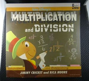 Jiminy-Cricket-amp-Rica-Moore-Multiplication-And-Division-Disneyland-DQ-1286