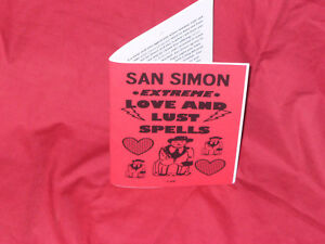 Details about SAN SIMON EXTREME LOVE & LUST SPELLS book by S  Rob