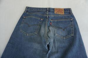 Levi-039-s-Levis-501-Hommes-Pantalon-Jeans-31-32-W31-L32-Delave-Bleu-Top-C21