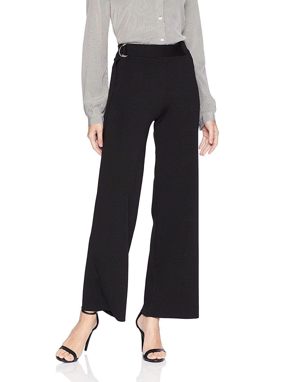 Lyssé Women's Orla Rib Knit Wide Leg Pant Style 1948