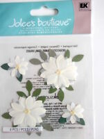 JOLEE'S BOUTIQUE STICKERS - VANILLA FLOWERS