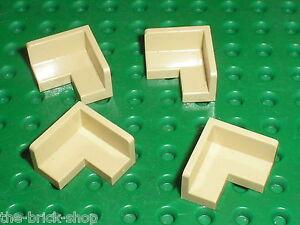 2x Panel Panneau 2x2x1 Corner coin angle gris//l b gray 91501 NEUF Lego