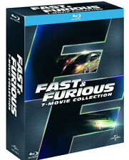 FAST AND FURIOUS - COFANETTO 7 FILM (7 BLU-RAY) BOX COLLEZIONE ITALIANA