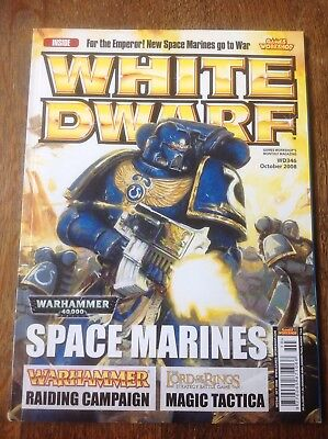 2019 Moda Warhammer. White Dwarf Numero 346. Warhammer Magazine.-mostra Il Titolo Originale
