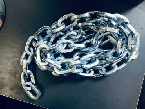 "48/"" Tulsa cut resistant 3//8 security chain"