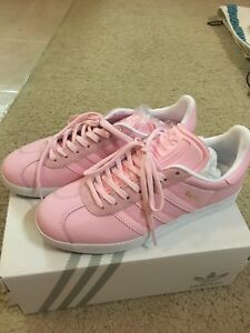 Image is loading Women-s-Adidas-mi-Gazelle-Sneakers-pink-color
