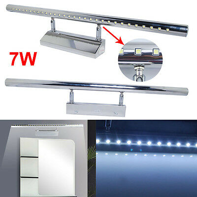 US 7W SMD 5050 White LED Mirror Light Scounce Wall Front Lighting Bathroom Lamp