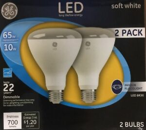 Elegant Image Is Loading 2 GE 21907 Dimmable LED Soft White Light