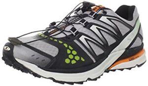 Crossmax 8 clementine Zapatos negro Salomon Neutro x Aluminio vZdUxt66wq