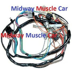 image is loading dash-wiring-harness-57-chevy-150-210-bel-