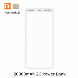 designer fashion 09caf 98945 Details about New Xiaomi Mi 20000mAh Power Bank 2C Quick Charge 3.0 Dual  USB External Battery