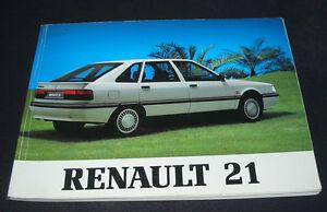 Betriebsanleitung-Handbuch-Renault-21-GTL-GTX-TXI-Turbo-D-GTD-Stand-April-1989