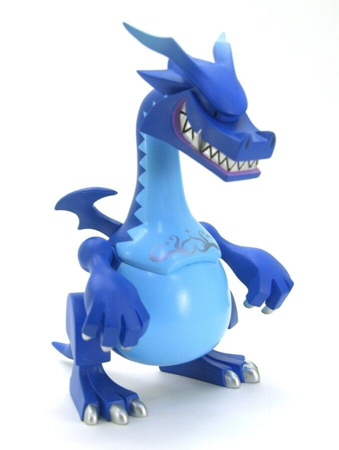 NEW TOUMA GOON LIMITED EDITION blueE VERSION URBAN VINYL DESIGNER TOY
