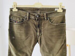 Diesel-Jeans-Thavar-0830H-Stretch-Denim-Braun-Brown-no-Jogg-W32-Sample-Wash