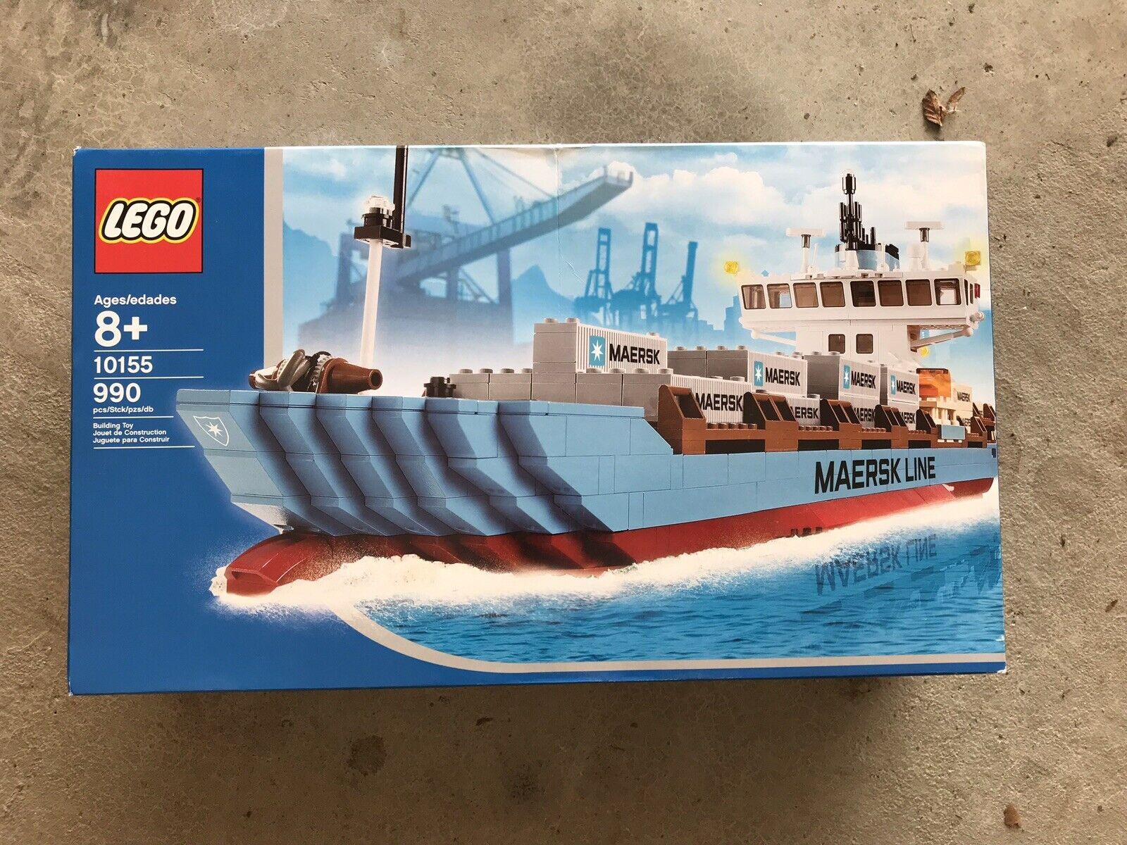 Lego Container Ship-Maersk  Line 10155 Neuf dans sa boîte  vente au rabais
