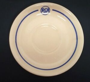 RCA-Restaurant-Saucer-Cafeteria-Sterling-East-Liverpool-OH-Post-50s-Camden-NJ