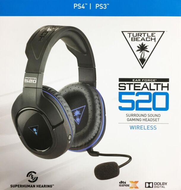 424b6989240 Turtle Beach - Stealth 520 Premium Fully Wireless Gaming Headset PS4 PS3 -  VG
