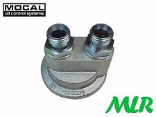 MOCAL SP1 5//8BSP FITTINGS OIL COOLER PLATE CAPRI ESCORT MK1 MK2 COSWORTH SX2