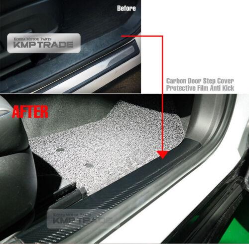 Carbon Door Scuff Sticker Anti Protector for HYUNDAI 2017-18 Elantra AD