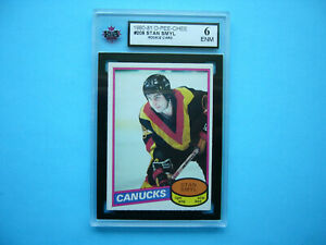 1980-81-O-PEE-CHEE-NHL-HOCKEY-CARD-208-STAN-SMYL-ROOKIE-KSA-6-EX-NM-SHARP-OPC