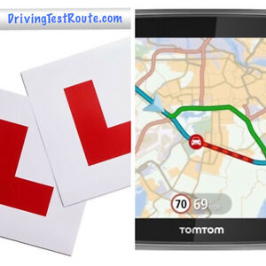 Details about Car Driving Test Routes for UK centres in GPX format for Sat  Nav Google Maps