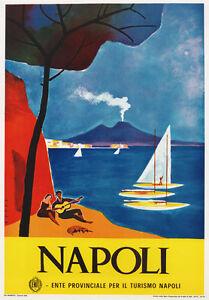 TV87 Vintage 1960's Napoli Naples Italian Italy Travel ...