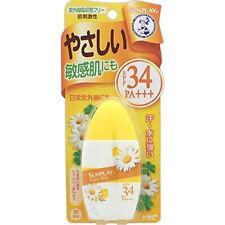 ☀ Rohto Sunplay Sunscreen Mentholatum Baby Milk SPF34  PA+++ 30g Japan ☀