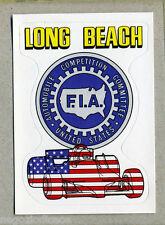 F1 GRAND PRIX - Panini 1980 - Figurina-Sticker n. 8 - LONG BEACH G.P -New