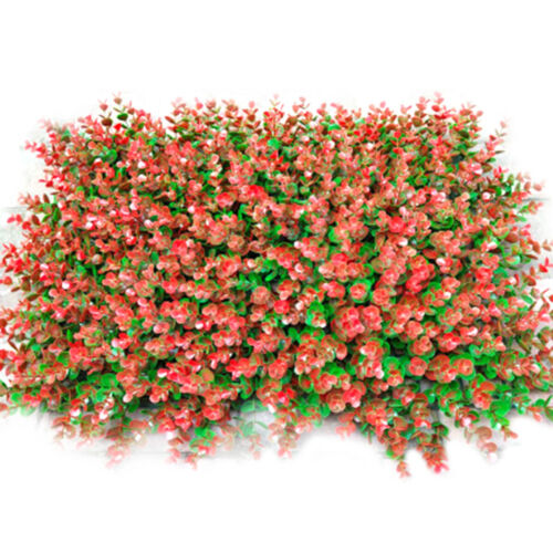 Artificial Ivy Plant Wall Cover Outdoor Privacy Wall Garden Fence Decor GP3Z