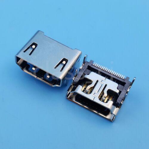 50Pcs HDMI Female 19Pin Socket SMT Solder Type PCB Mount Connector