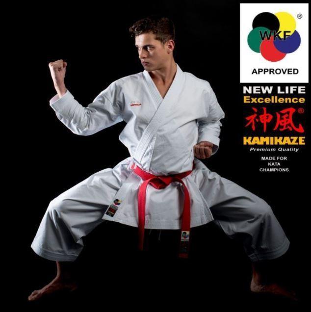 KAMIKAZE KATA New Life Eccellence WKF WKF WKF   Karateanzug  | Verbraucher zuerst  | Ein Gleichgewicht zwischen Zähigkeit und Härte  | Verpackungsvielfalt  c8ec3a