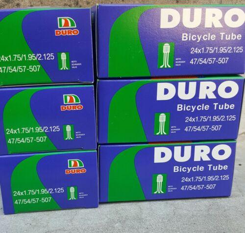 "New 24x1.75/"" 24x1.95/"" 24x2.125/"" bike beah cruiser bicycle mountain inner tube"