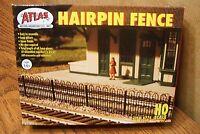 Atlas Model Railroad Hairpin Style Fence Kit Ho Scale