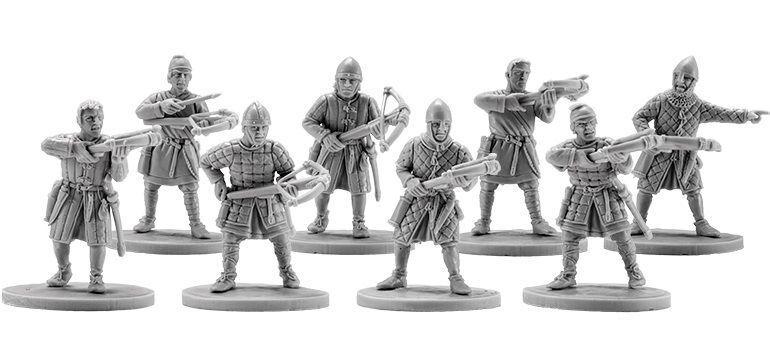 V&V Miniatures Norman Crossbowmen Warband Normans armbrustschützen Warrior