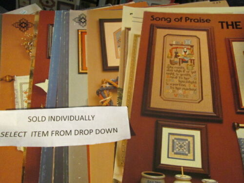 Cross/'N Patch Cross Stitch//Hardanger//Specialty Stitch Leaflet-Your Choice
