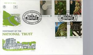 First Day Cover  1995 THE NATIONAL TRUST CENTENARY  Unaddressed  Aylsham - Loughborough, Leicestershire, United Kingdom - First Day Cover  1995 THE NATIONAL TRUST CENTENARY  Unaddressed  Aylsham - Loughborough, Leicestershire, United Kingdom