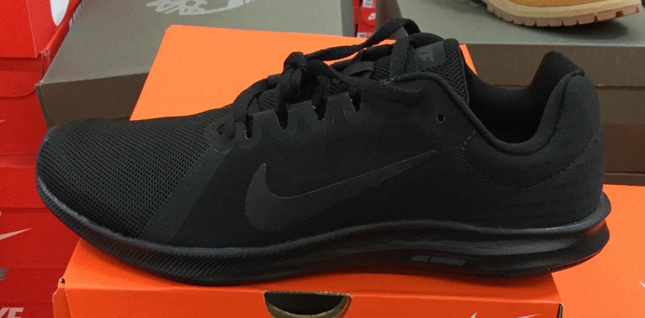 NIKE Downshifter 8 homme fonctionnement chaussures noir 908984 002 Sz8-13 KHS
