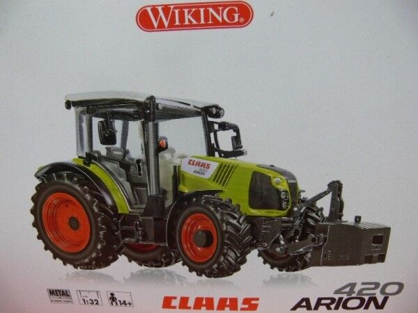 1 32  wiking Claas Arion 420 0778 11  promotions promotionnelles