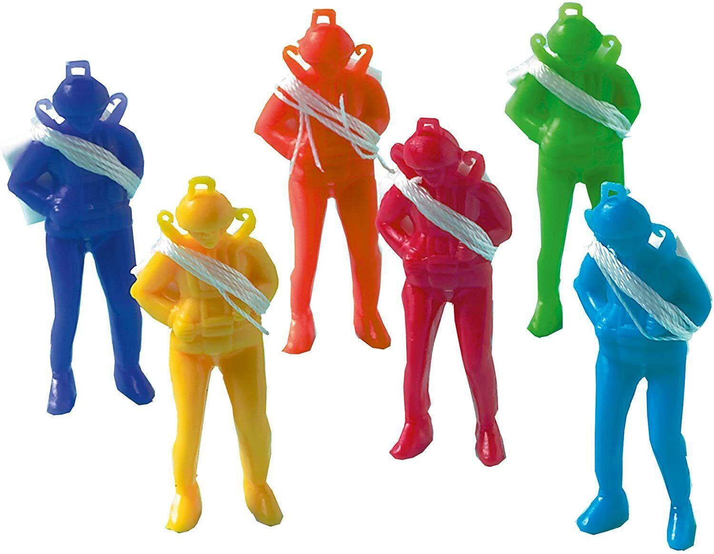 6X Parachute Men Parachutist Pinata Toy Loot//Party Bag Fillers Wedding Gift HFUK